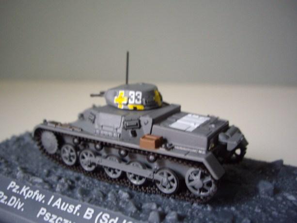 nº25 – Altaya Panzer Kpfw.I Ausf. B (Sd.Kfz. 101)