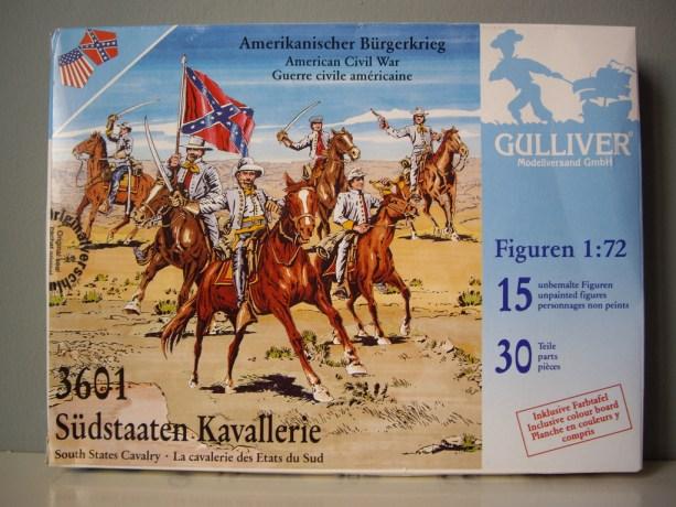 Gulliver Confederate Cavalry