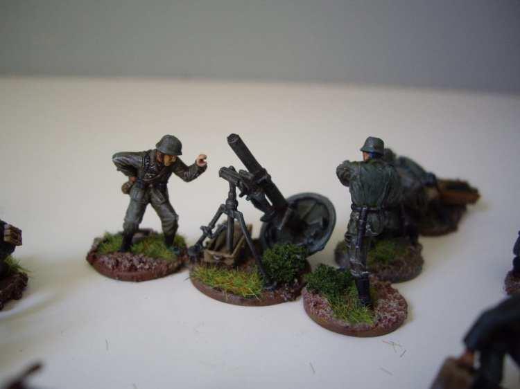 Pegasus German Mortar Teams