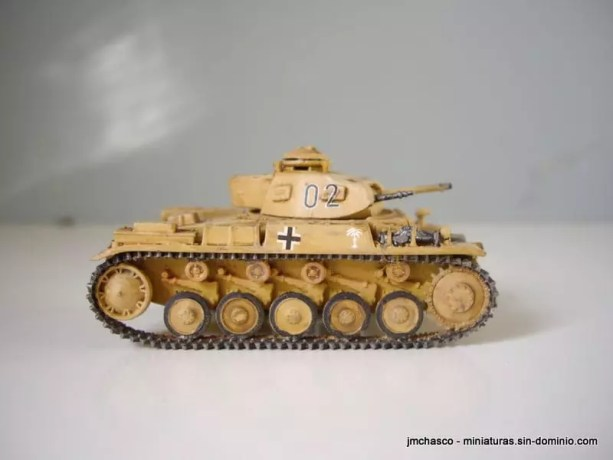 Esci 8003 Pz Kpfw II Ausf F
