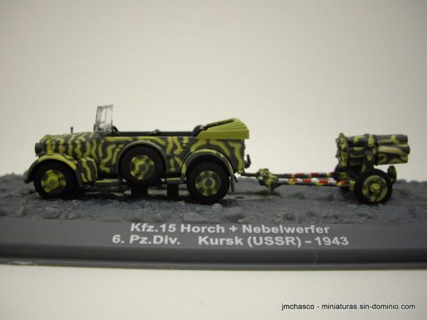 nº45 – Altaya – IXO Kfz. 15 Horch + Nebelwerfer