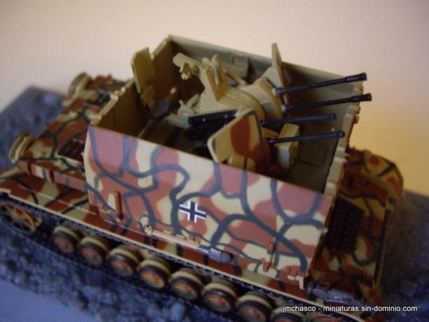 "nº57 – DeAgostini – Altaya – IXO Flakpanzer IV ""Möbelwagen"" Sd.Kfz 161/3"