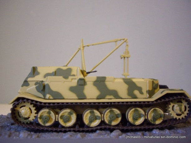 nº56 – DeAgostini – Altaya – IXO Bergepanzer Tiger (P)