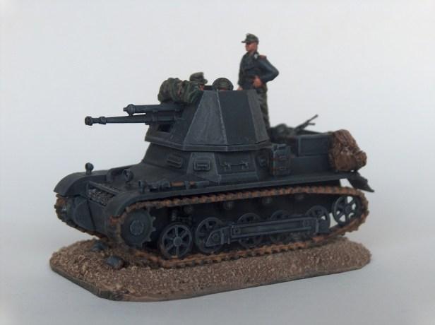 1/72 Italeri 7058 Panzerjäger I with Pak 4.7