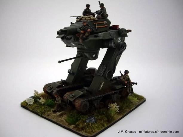 Hät U.S. Tank Riders 8265 – Riding a Frankenstein