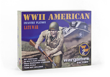 Wargames Factory 28mm U.S. Infantry.