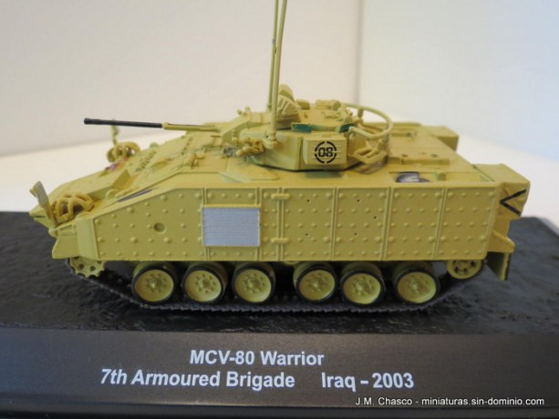 nº22 – Altaya IXO – MCV 80 Warrior