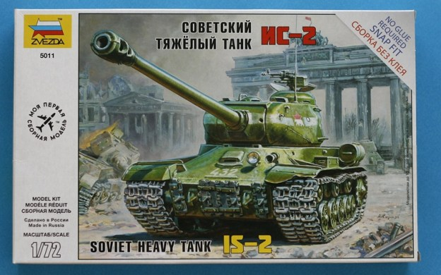 1/72 IS-2 Comparison: Zvezda, Italieri and PST