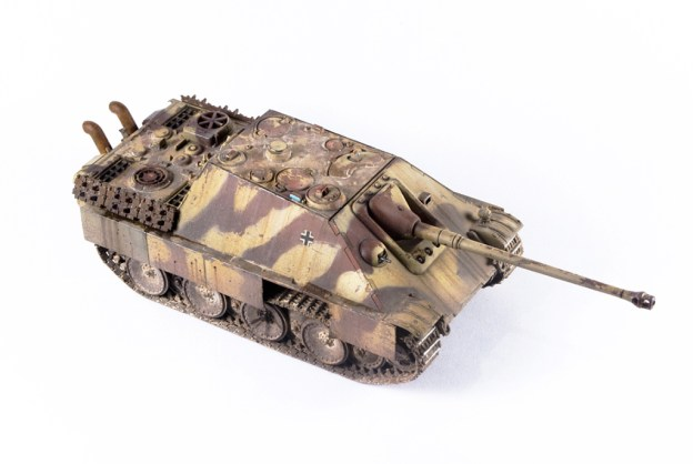 1/72 Trumpeter – 07272 – Jagdpanther, Finished model.
