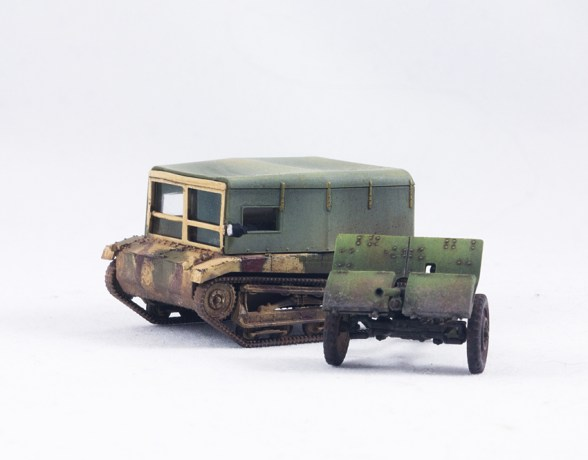 First to Fight – 03 – Polish C2P Tractor + ACE – 72533 – Wz.36 (Done)