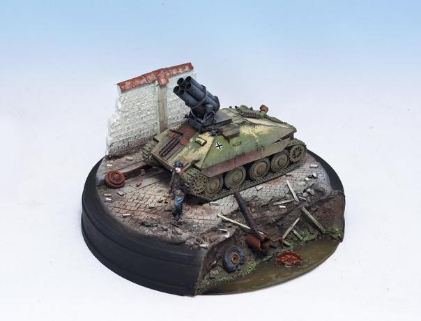 1/72 – UM (352) + S-Model (720005) – (What If) 38(t) PanzerWerfer 21cm