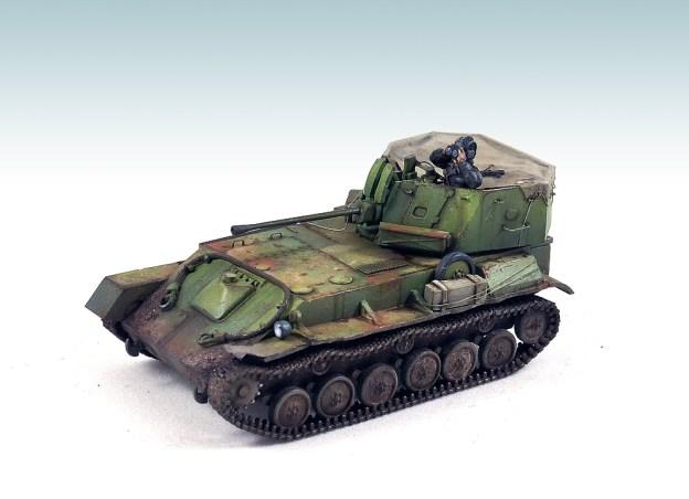 1/72 – UM – 305 – ZSU-37 AA Tank