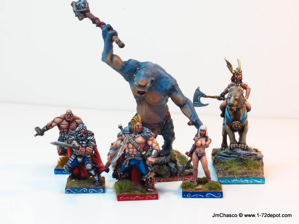 28mm – HassleFree Fantasy Humans (and a Undead Necromancer ...