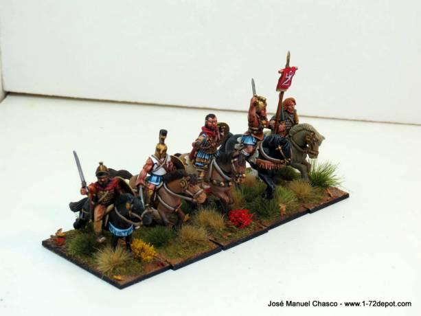 28mm – Gripping Beast & Crusader Miniatures – Carthaginian reinforcements.