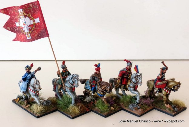 28mm The Assault Group – Foundry – Polish Renaissance Command.
