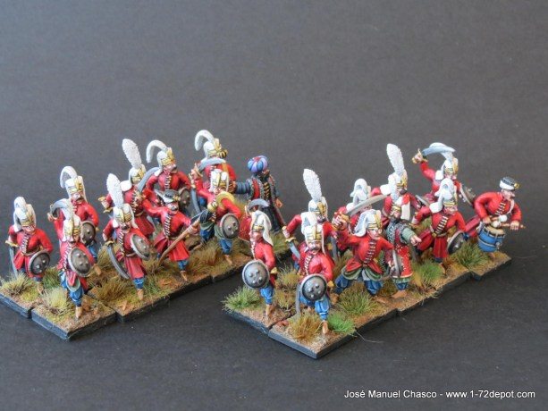 28mm Warlord Games – Janissaries with Sword.