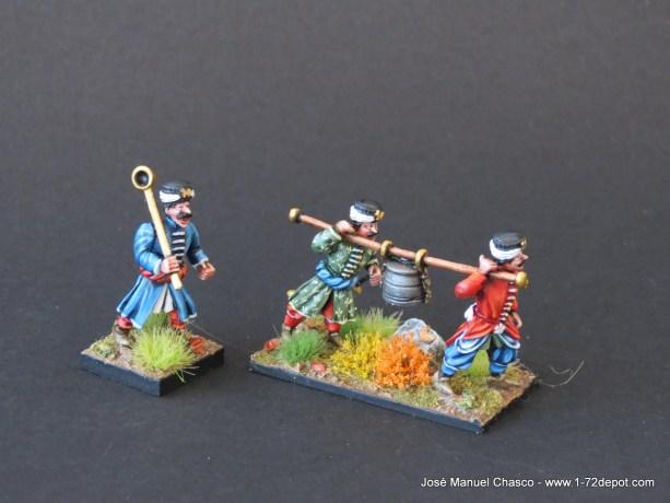28mm Warlord Games – Ottoman Janissary Kazan