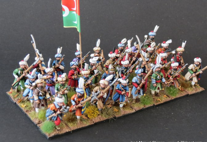 28mm The Assault Group – Ottoman Azabs (Azaps)