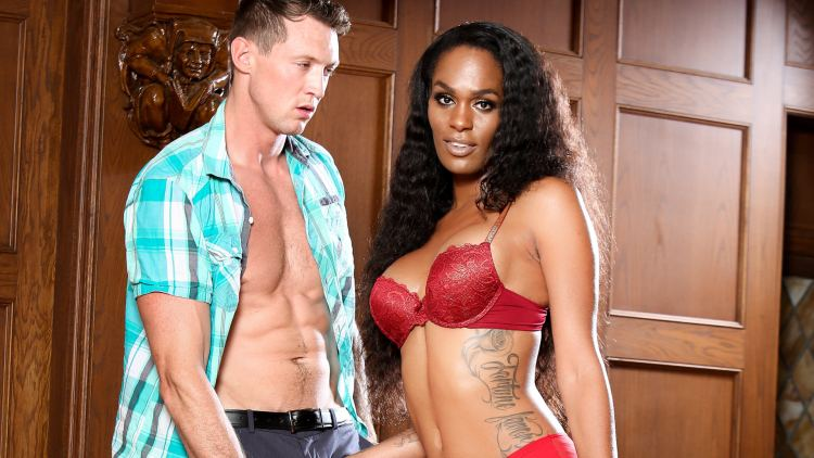 Interracial Transsexuals – Pierce Paris & Becca Fatale