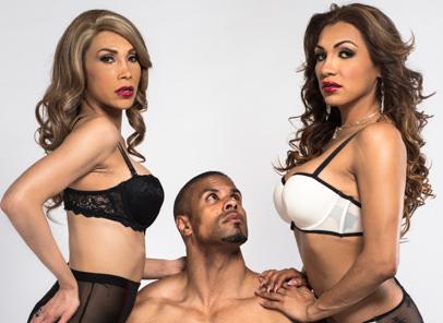 TS Girls On Top – Jessy Dubai & Sunday Valentina & Robert Axel