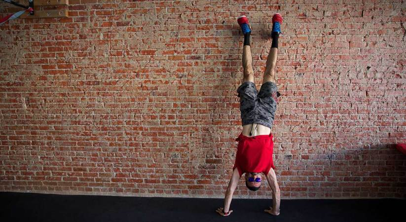 You're not a Yogi if you can't do a Handstand