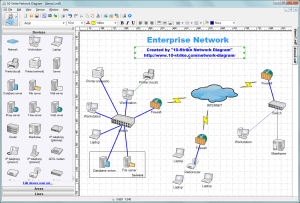 10Strike Network Diagram  Software for Creating Topology