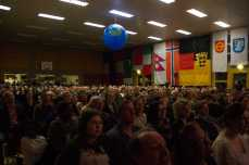 Ein Blick in die vollbesetzte Silberberghalle. Foto: S. Leppert/Förderverein