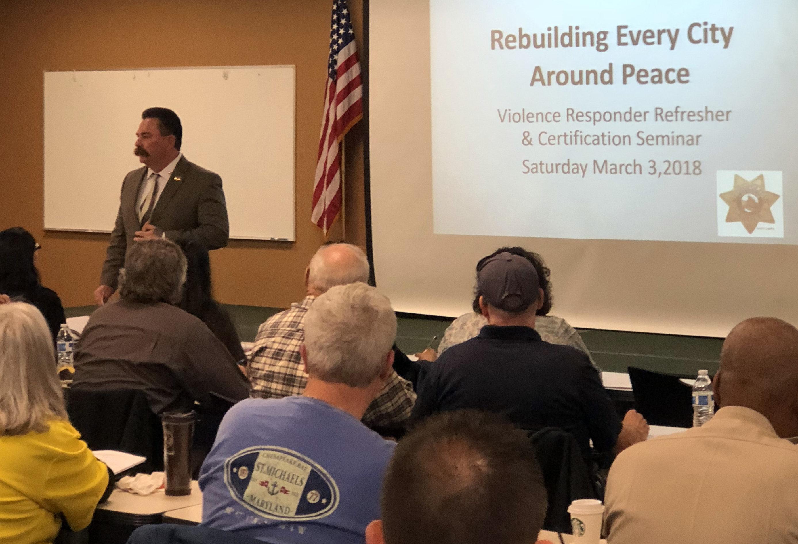 RECAP training - Pastor Troy Martinez