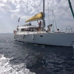 Atoll 43 Dufour Padishah my sail