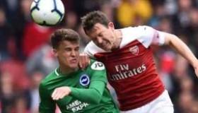 Arsenal 1 vs 1 Brighton & Hove Albion highlights 5.5