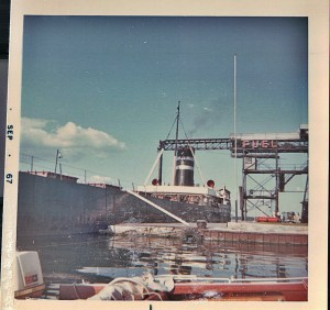 1000 Islands Clayton Coal dock sep 67