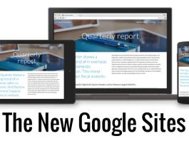 Google เปิดตัวบริการสร้างเว็บไซต์ Google Sites ใหม่ อย่างเป็นทางการ