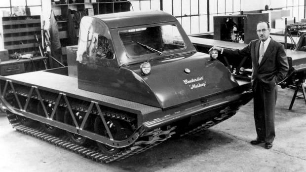 Joseph-Armand Bombardier   Snowmobile Inventor