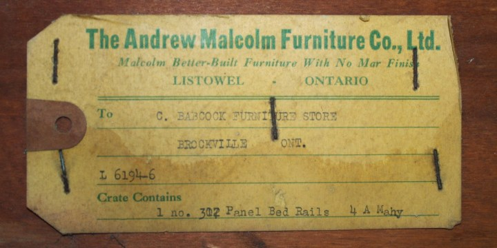 Andrew Malcolm | Furniture Manufacturer