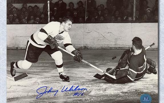 Johnny Wilson   NHL Ironman