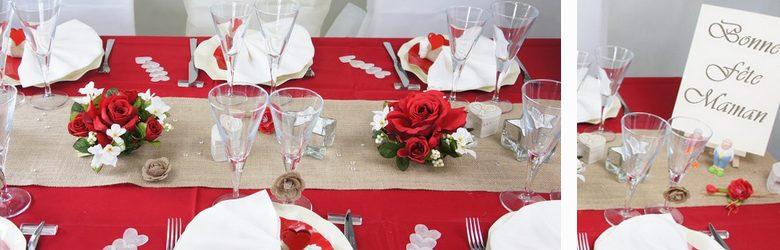 Dcoration De Table Pour La Fte Des Mres Objets Dco