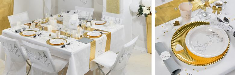 deco de table mariage decor alliances