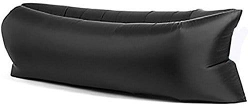 Canapé gonflable portable Noir – Plage & Jardin