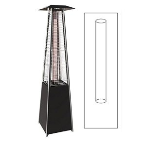 Tube en verre de rechange pour parasol chauffant pyramidal Keops Flamme