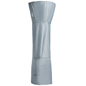 VonHaus Housse de Protection étanche pour Parasol chauffant – « Collection Orage » – Grise