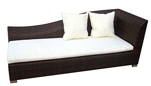Baidani canapé lounge design diva marron