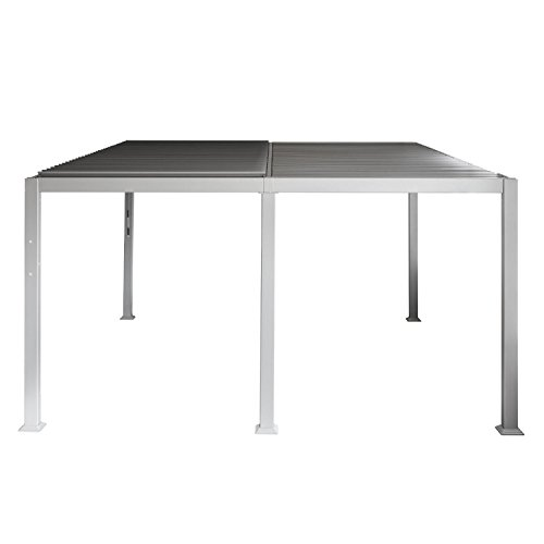 Tonnelle Avila – 3 x 4 m – Silver mat