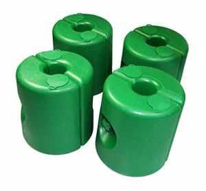 Tonnelle Pied/4pièces/vert/Poids Poids Pied pieds Sauvegarde Support pied pied support Tente bière tente