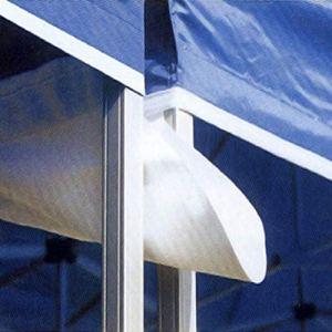Interouge Gouttière 4m PVC 520g/m² Barnum Pliant – Unité Rouge pour Tente Pliante, tonnelle, Barnum Pliant