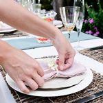 Housse pour Table Debout Ø 60 cm 70 cm 80 cm Blanc, Ø 80 cm