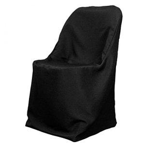LinenTablecloth Housse de Chaise Pliante Polyester