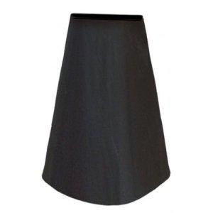 Mitefu Housse Bâche de Protection pour Cheminée de Jardin, Patio – Imperméable, D60 x H12cm