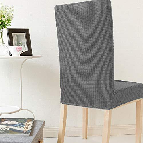AMONIDA Housse de Chaise Durable imperméable, Protecteur de Chaise de ménage, fête de Mariage Moderne et Simple Confortable pour l'hôtel