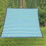 GBY Filet d'ombrage camouflage pour voiture de protection solaire pour toit de jardin Vert succulent filet de protection pour le camping (couleur : bleu, blanc, taille : 3 x 4 m)