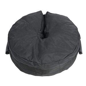 Alomejor Sac de Poids Tente Base de Parasol DéTachable avec Grande Ouverture